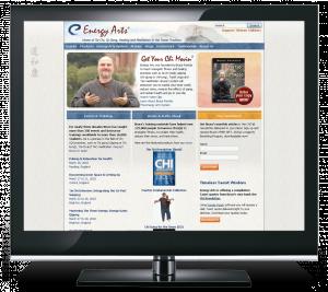 Energy Arts CMS Web Site