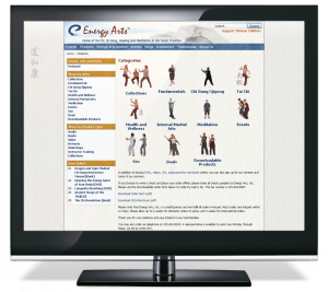 Energy Arts CMS Web Site
