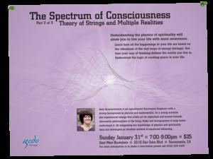 Spectrum of Consciousness Flyers