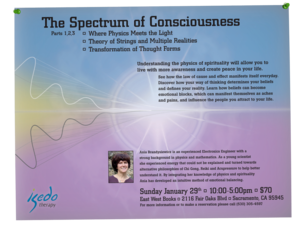 Spectrum of Consciousness Flyers