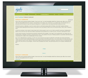 Isedo Therapy Web Site