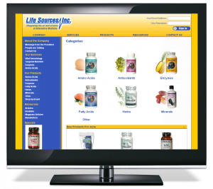 Life Sources eCommerce Site