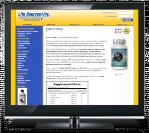 Life Sources eCommerce Site