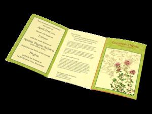 Garden Club - Oregano Herb Self Mailer